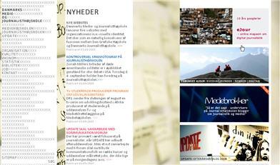 Danmarks Medie- og Journalisthøjskole - forsiden