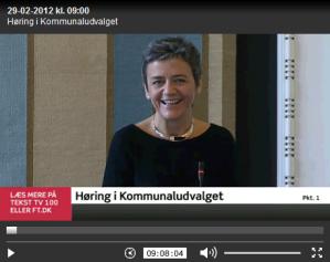 Økonomi- og Indenrigsminister Margrethe Vestager
