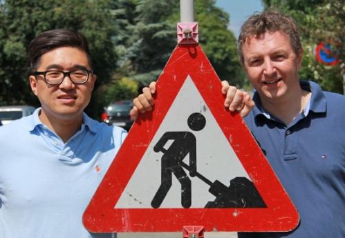 Sean Dong og Henrik Rewes arbejder på fuld kraft på Hiveeo.com og regner med at kunne lancere Hiveeo.com til august.